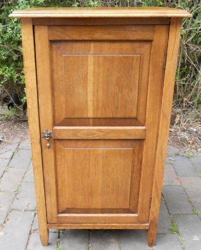 Oak Panelled Small Cupboard